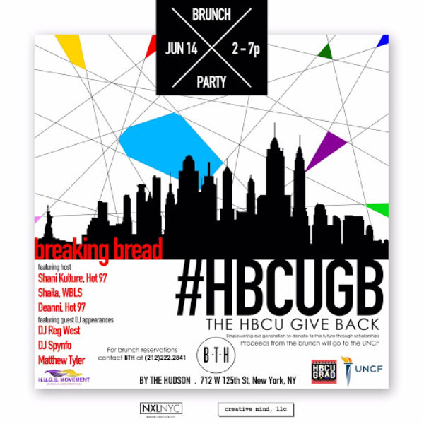 HBCU Flyer for Event on Sunday, June 14 Chiara